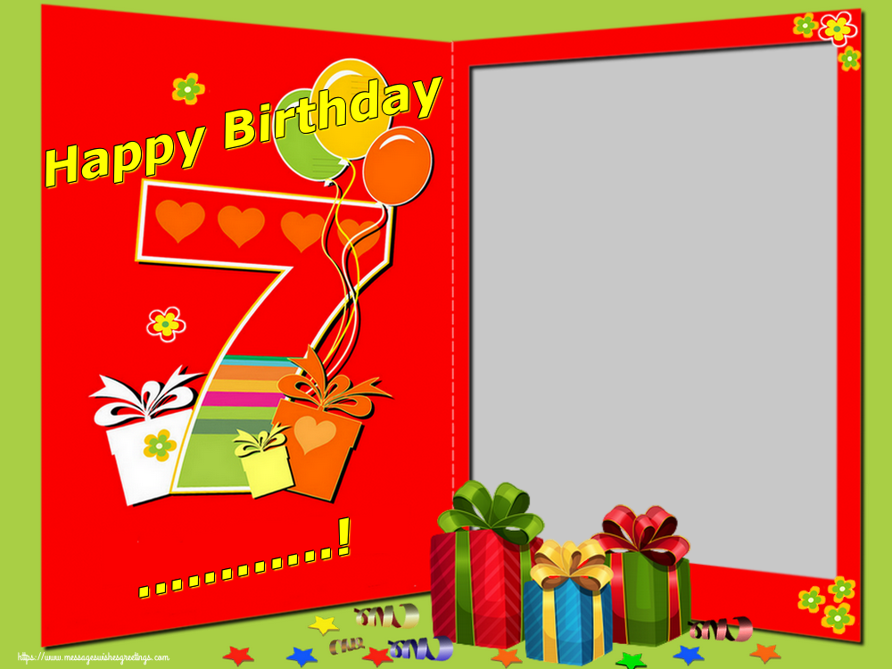 Custom Greetings Cards for Birthday - Happy Birthday ...!