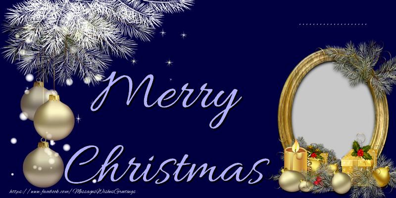 Custom Greetings Cards for Christmas - Merry Christmas, ...