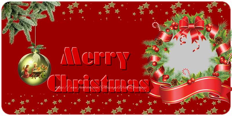 Custom Greetings Cards for Christmas - Merry Christmas!