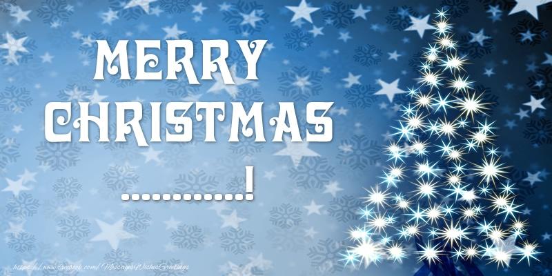 Custom Greetings Cards for Christmas - Merry Christmas ...!