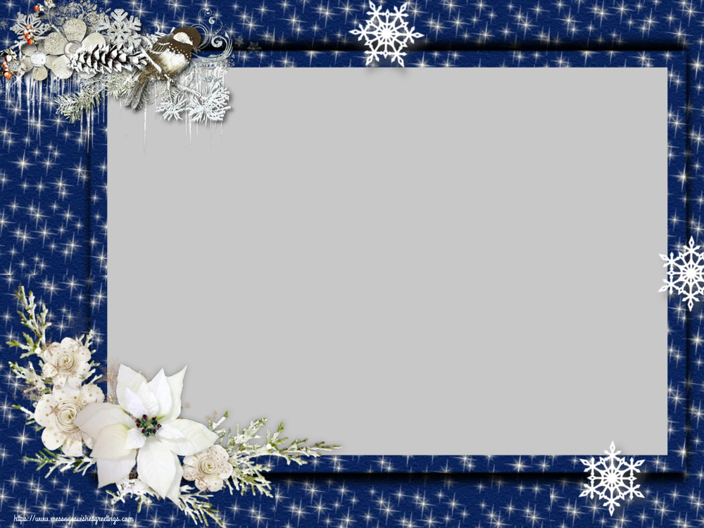 Custom Greetings Cards for Christmas - Christmas Photo Frame