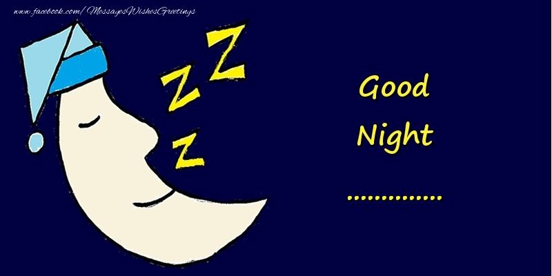 Custom Greetings Cards for Good night - Good Night ...