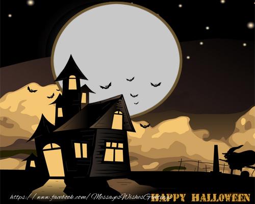 Custom Greetings Cards for Halloween - Happy Halloween!