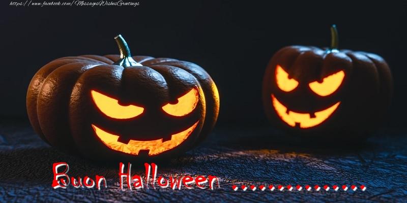 Custom Greetings Cards for Halloween - Buon Halloween