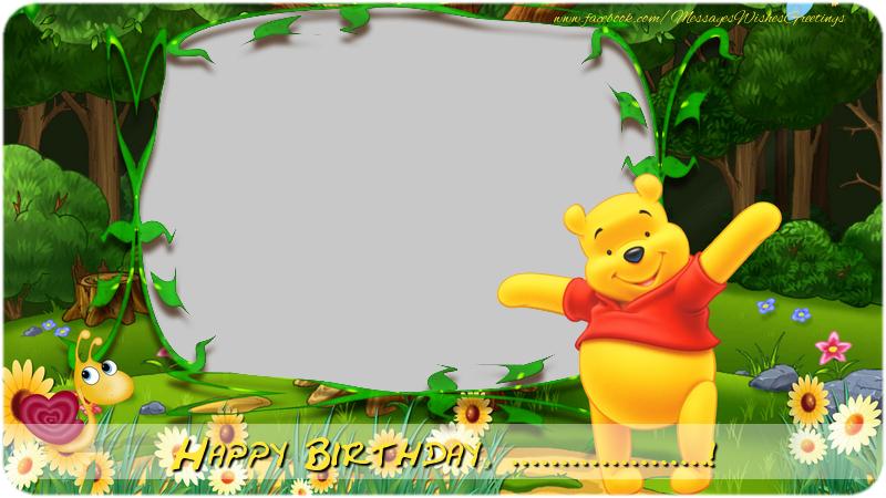 Custom Greetings Cards for kids - Happy Birthday, ...!