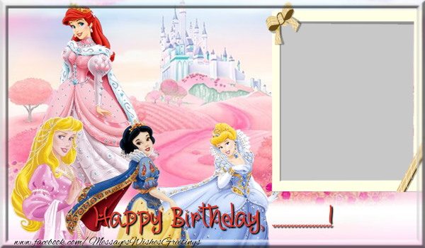 Custom Greetings Cards for kids - Happy Birthday, ...!