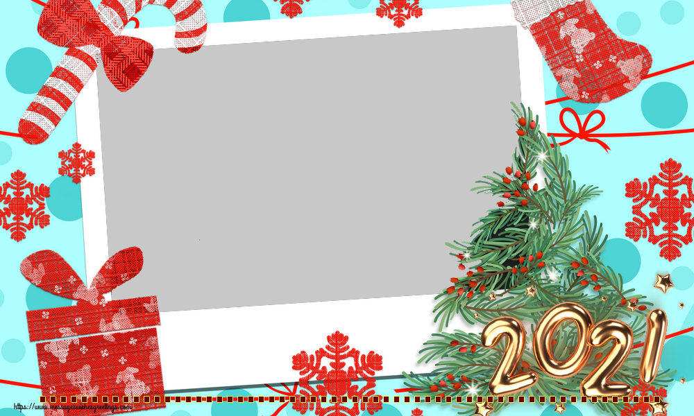 Custom Greetings Cards for New Year - ... - New Year Photo Frame