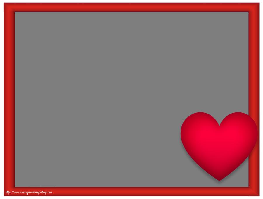 Custom Greetings Cards with Photo - Photo Frame