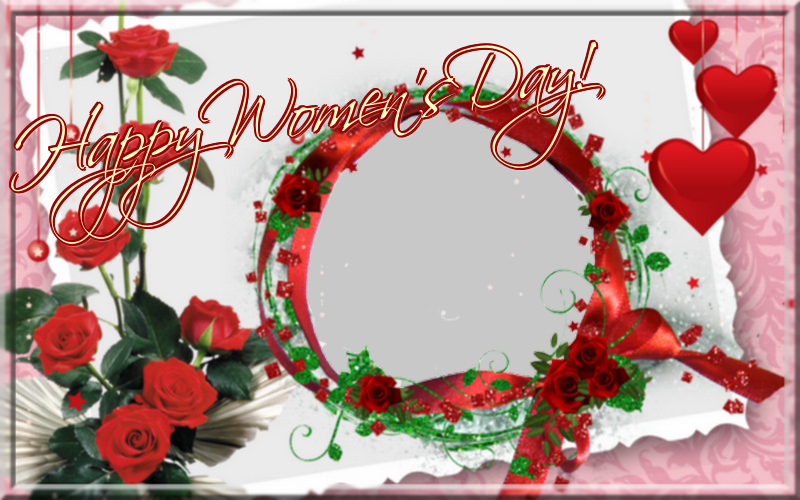 Custom Greetings Cards for Women's Day - Happy Women's Day! - Women's Day Photo Frame