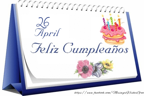 Astounding Greetings Cards Of 26 April 26 April Happy Birthday Personalised Birthday Cards Paralily Jamesorg