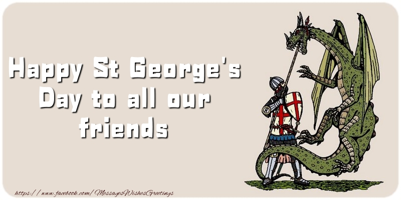 Messages for St. George's Day - Happy St. George's Day! - messageswishesgreetings.com