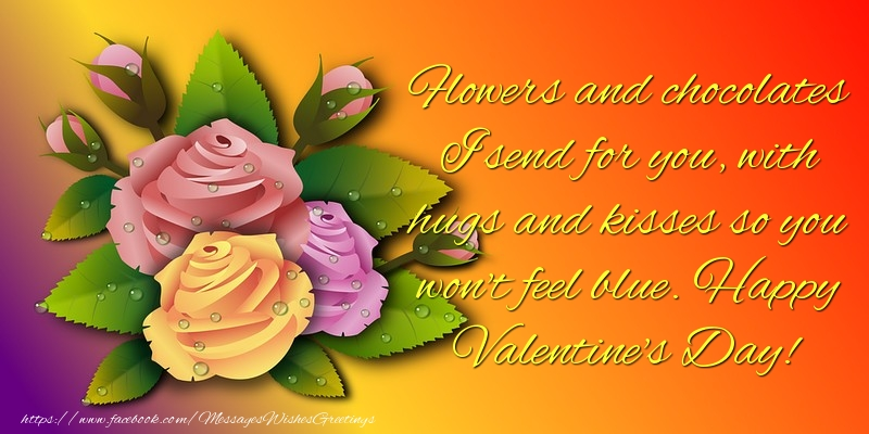 Messages for Valentine's Day - Happy Valentine's Day! - messageswishesgreetings.com