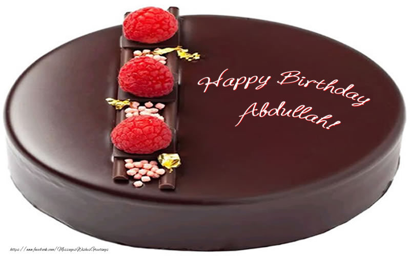Greetings Cards for Birthday - Happy Birthday Abdullah!