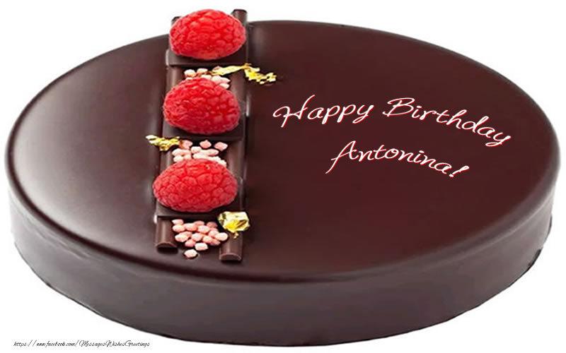 Greetings Cards for Birthday - Happy Birthday Antonina!
