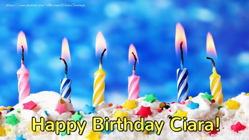Greetings Cards For Birthday Happy Birthday Ciara