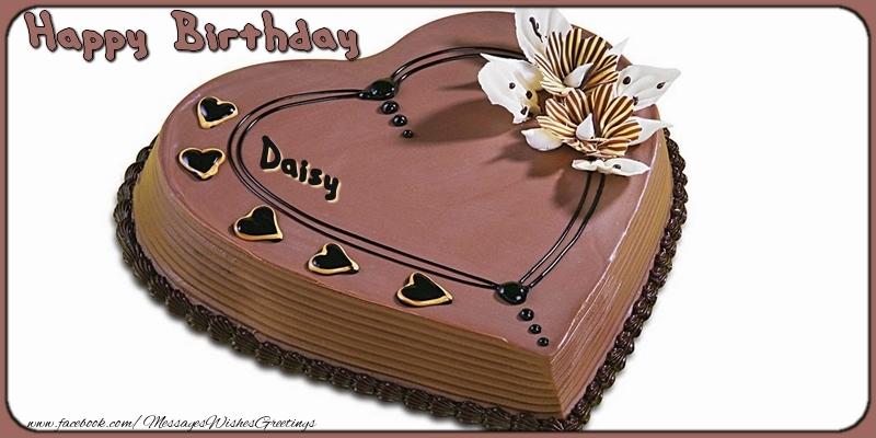 Greetings Cards for Birthday - Happy Birthday, Daisy!