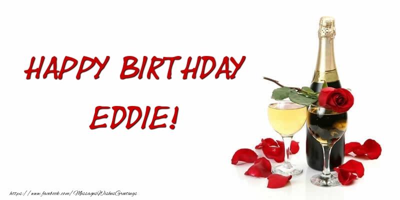Greetings Cards for Birthday - Happy Birthday Eddie