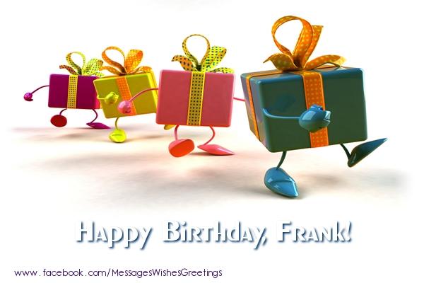 Greetings Cards for Birthday - La multi ani Frank!