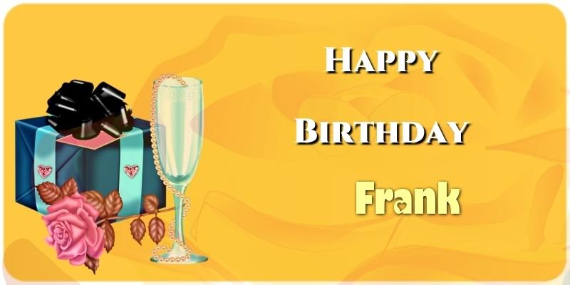 Greetings Cards for Birthday - Happy Birthday Frank