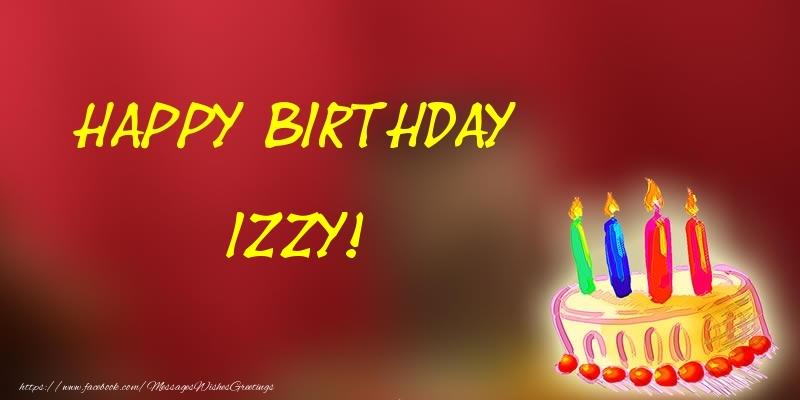 Happy Birthday Izzy Cake