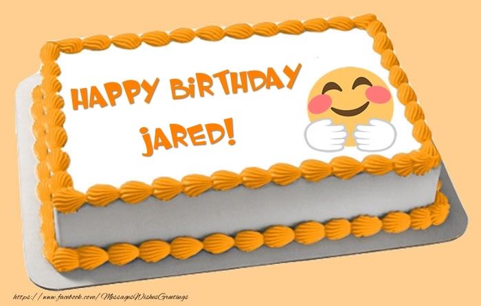 Happy Birthday Jared Cake
