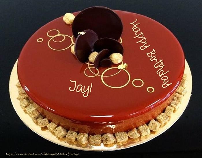 Happy Birthday Cake Jay Images ~ Cake happy birthday jay greetings cards for birthday for jay