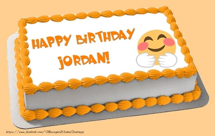 Birthday Cake Jordan