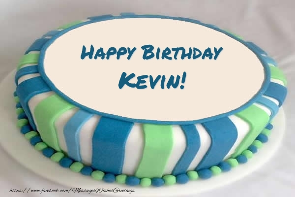 Birthday Cake Images With Name Kevin : Cake Happy Birthday Kevin! - Greetings Cards for Birthday ...