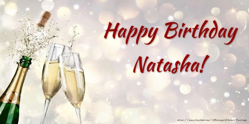 happy birthday natasha   greetings cards for birthday for
