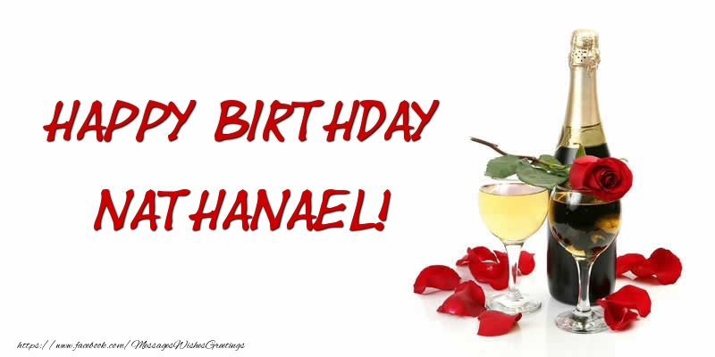 Greetings Cards for Birthday - Happy Birthday Nathanael