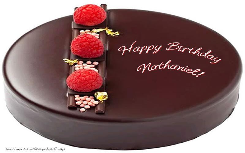 Greetings Cards for Birthday - Happy Birthday Nathaniel!