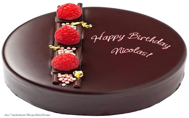 Greetings Cards for Birthday - Happy Birthday Nicolas!