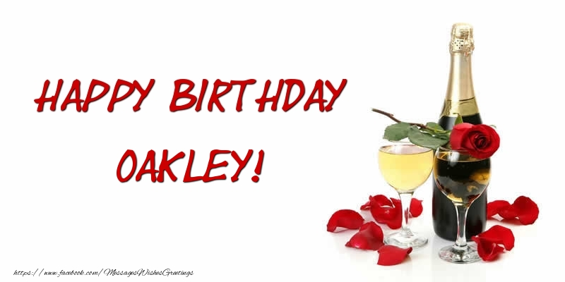 Greetings Cards for Birthday - Happy Birthday Oakley