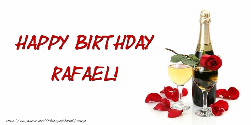 Greetings Cards for Birthday - Happy Birthday Rafael