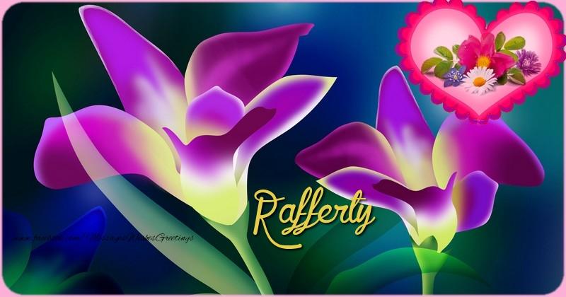 Greetings Cards for Birthday - Happy Birthday Rafferty