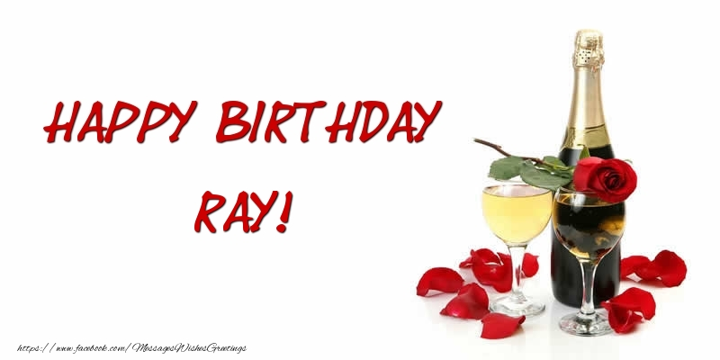 Greetings Cards for Birthday - Happy Birthday Ray