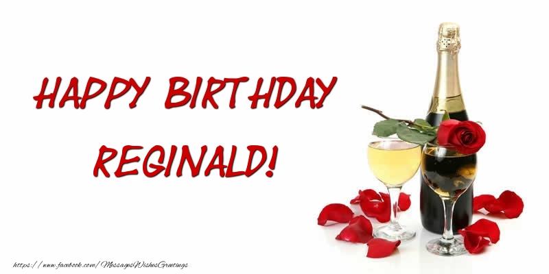 Greetings Cards for Birthday - Happy Birthday Reginald