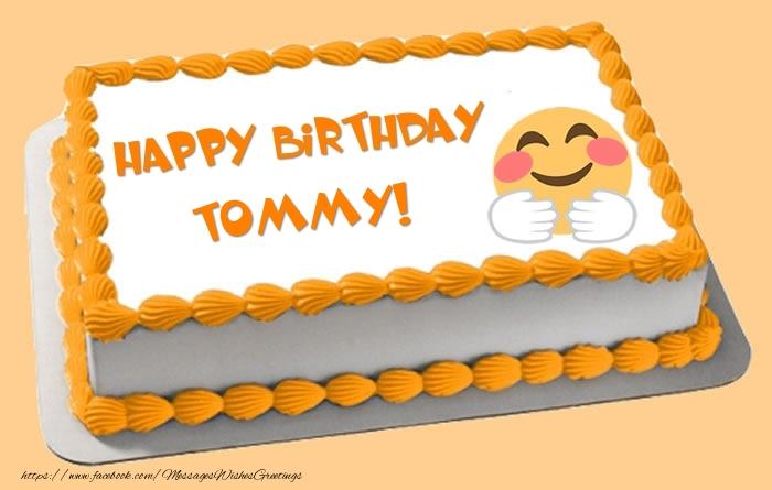 Happy Birthday Tommy Cake
