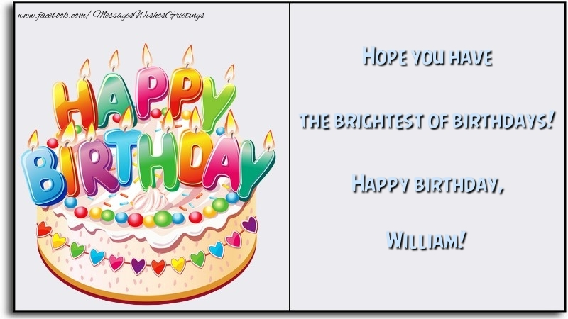 Image result for happy birthday William