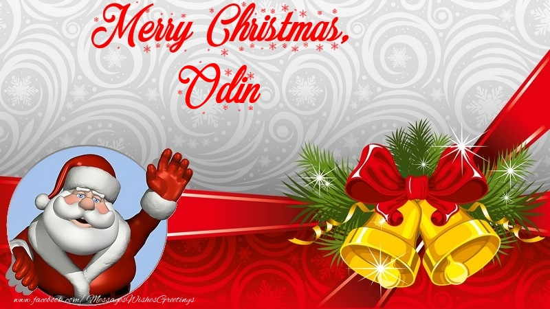 Odin - Greetings Cards for Christmas - messageswishesgreetings.com