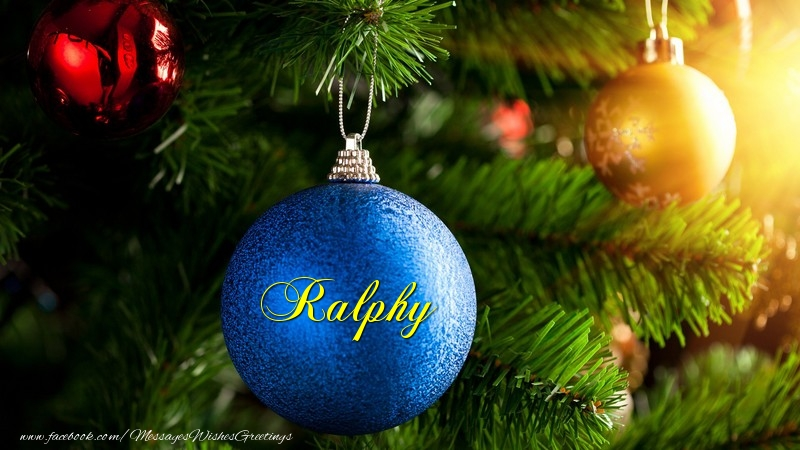 Greetings Cards for Christmas - Ralphy