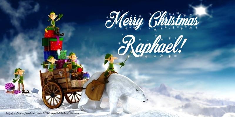 Greetings Cards for Christmas - Merry Christmas Raphael!