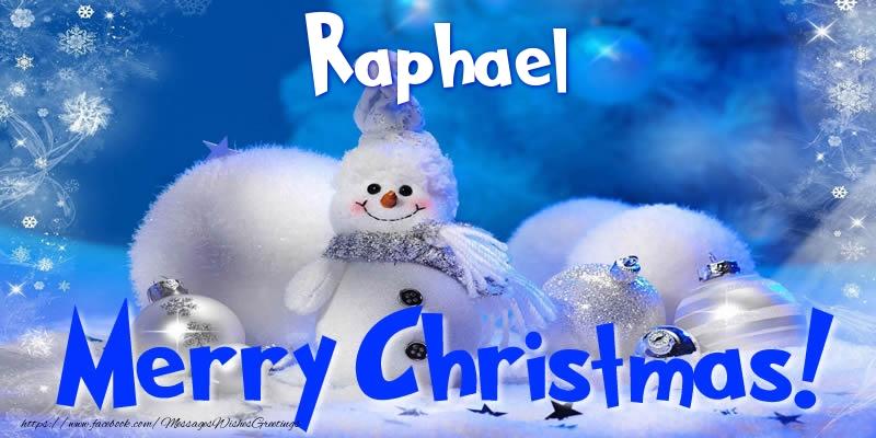 Greetings Cards for Christmas - Raphael Merry Christmas!