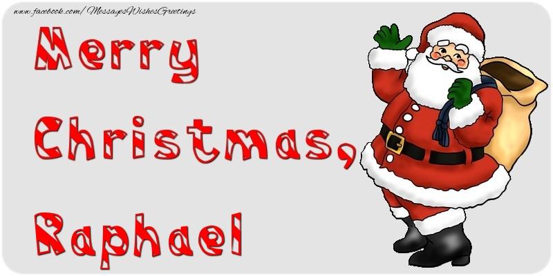 Greetings Cards for Christmas - Merry Christmas, Raphael