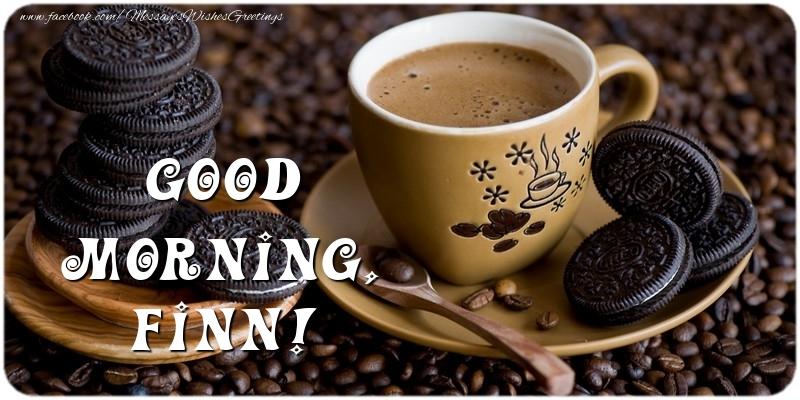Greetings Cards for Good morning - Good morning, Finn