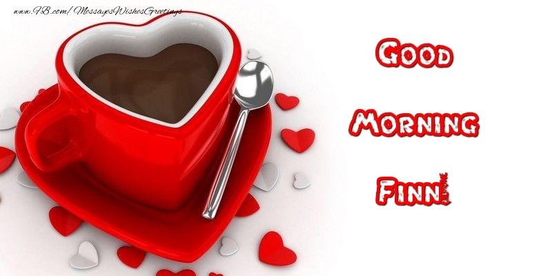 Greetings Cards for Good morning - Good Morning Finn
