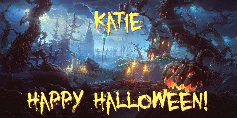 Katie happy halloween greetings cards for halloween for katie greetings cards for halloween katie happy halloween m4hsunfo