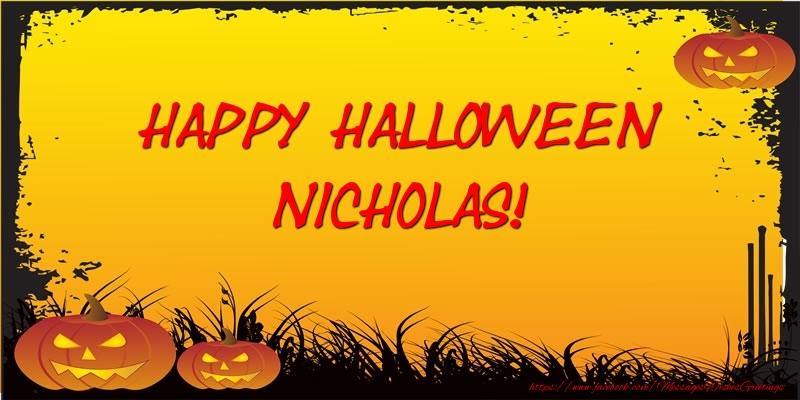 Happy halloween nicholas greetings cards for halloween for greetings cards for halloween happy halloween nicholas m4hsunfo