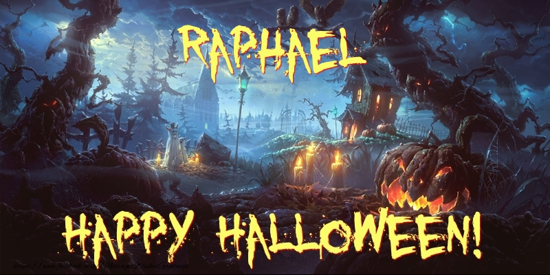 Greetings Cards for Halloween - Raphael Happy Halloween!