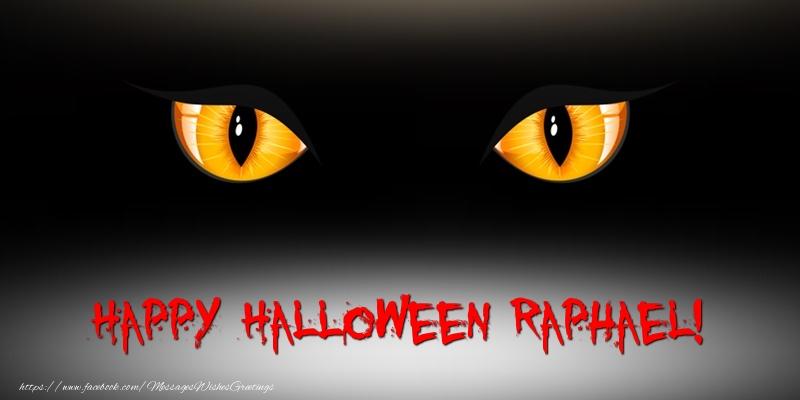 Greetings Cards for Halloween - Happy Halloween Raphael!